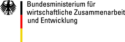 Logo des Bundesministeriums für wirtschaftliche Zusammenarbeit und Entwicklung.