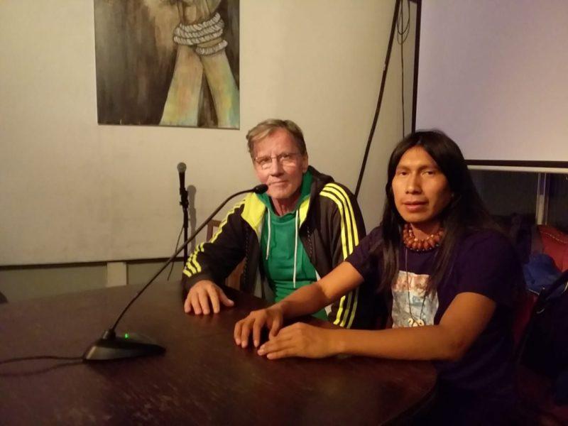 Die Mitbegründer von POROROCA RED: Siegmund Thies und Yanda Ushigua