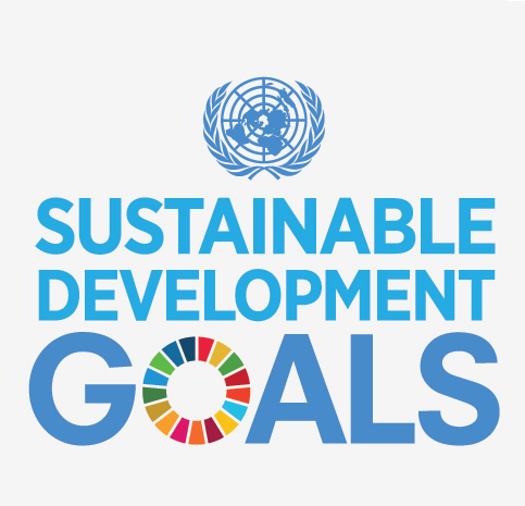 Das Logo der Weltnachhaltigkeitsziele