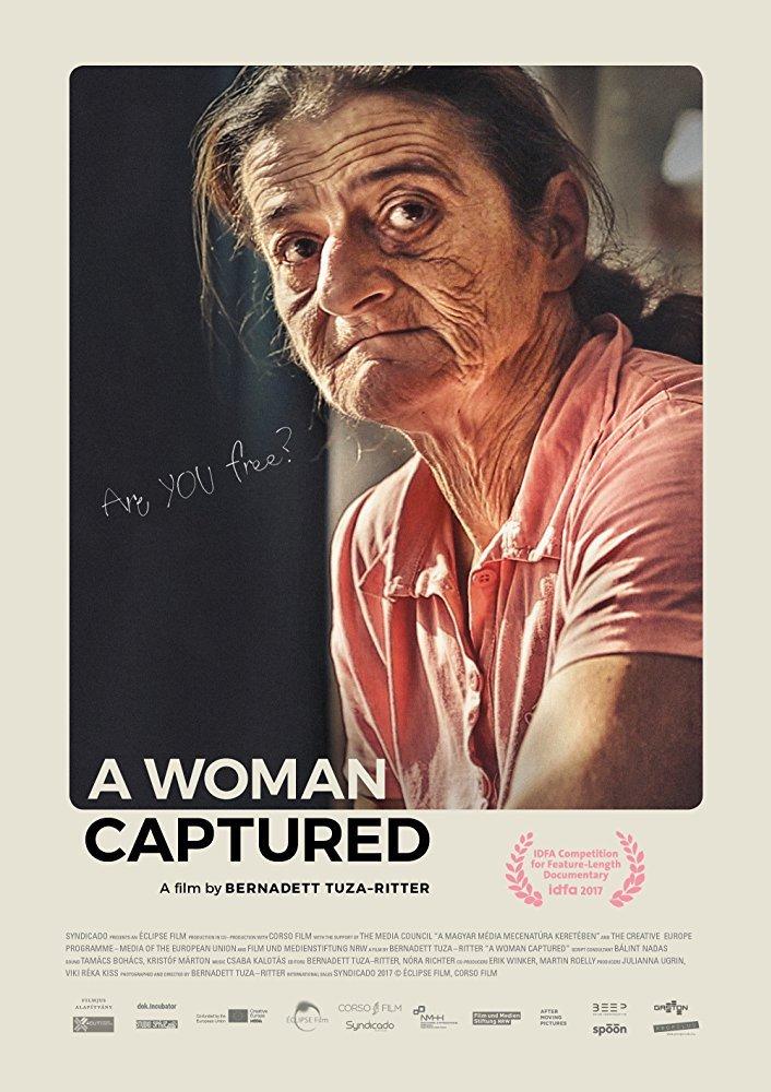 Filmplakat A woman captured