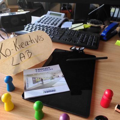 Kreative Tools zur Entwicklung von Einstigesmodulen