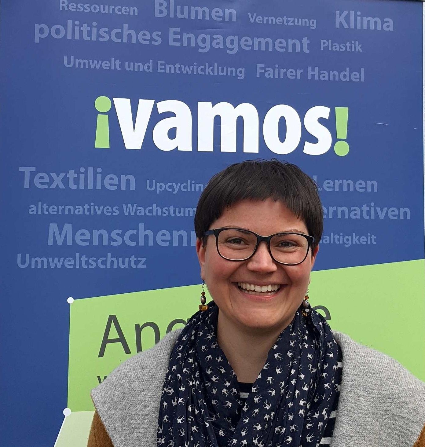 Laura Hebling von Vamos e.V.