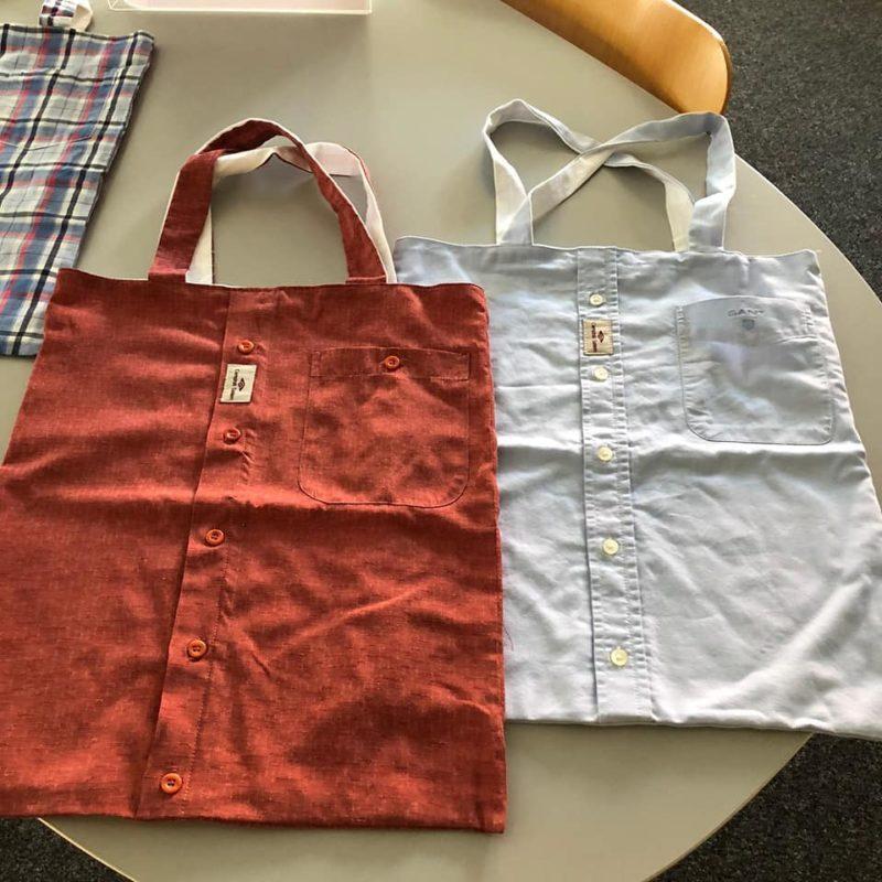Taschen aus Hemden